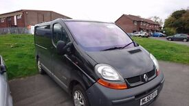 Renault trafic Eletric windows remote central locking heated mirrors air con bluetooth stereo