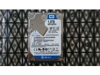 1.0 TB Laptop hard drive (2,5inch) WD Blue series WD10JPCX