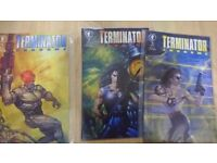 Terminator comics collection over 20 comics including mini graphic novel