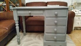 Grey dressing table / small desk