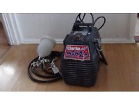 Clarke Monza air compressor +paint spray gun