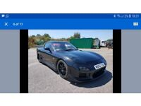 Mazda rx7 new brakes, suspension, bushes, low mileage, strong engine, recent respray