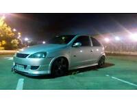 Vauxhall corsa 1.8 sri sale swop modified, track spec fast road project why