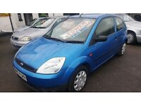 FORD FIESTA 1.2cc FULL YEARS MOT 2004 WARRANTY £1195