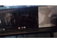 Game of Thrones Seasons 1 to 3!
