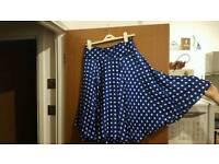 Ralph Lauren 100% silk airy skirt. Size 12