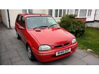 Rover 100, 114GSI 1997 low millage, VGC. alloys, sunroof, electric front windows, MOT exp Oct 17.