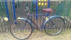 Mens vintage raleigh 3 speed bike