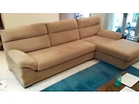 4 Seater Chaise Sofa