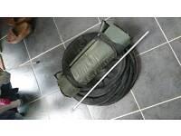 Keepnet and unhooking mat coarse fishing gear
