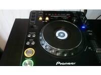 2 x Pioneer cdj 1000 mk3
