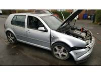 2004 Vw Golf 2.8 V6 4motion Highline Breaking Full Recaro heated leather Reflex silver