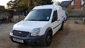 Ford Transit Connect LWB 90 T230 high top. 86000 miles. NO VAT