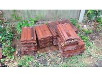 54 reclaim red roof tiles