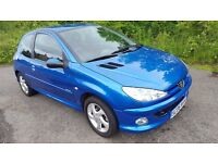 **BARGAIN**Peugeot 206 Sport 1.4 16v**MOT FEB 2018**Clean & Tidy**Cheap to run..