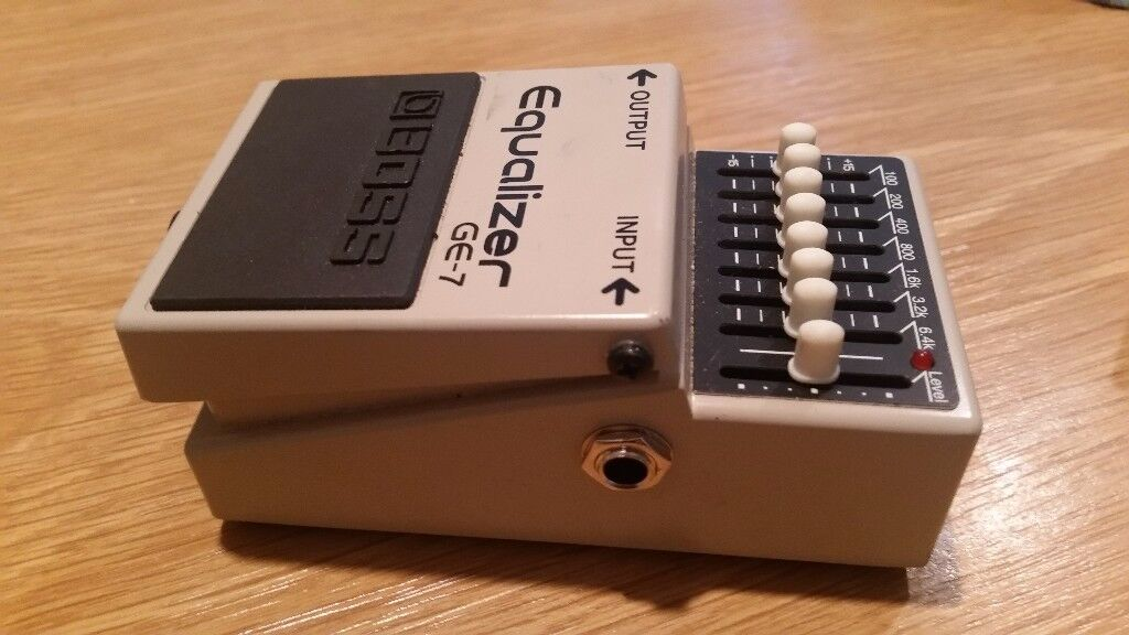 Boss GE 7 equalizer pedal