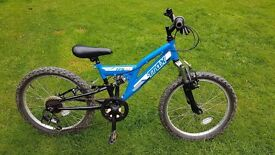 Trax TFS.20 Full Suspension Boys Mountain Bike
