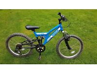 Trax TFS.20 Full Suspension Boys Mountain Bike