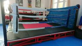 Boxing ring. 12 foot outside.