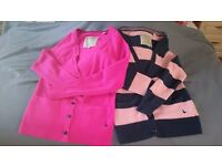 Jack Wills Cardigans 1 x Pink - 1 Classic Jack Wills Stripes Size UK8