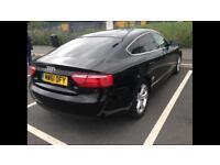 2012 61 Reg Audi A5 Sportback 2.0 TDI Black Full Leather