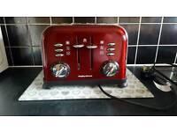 Morphy Richards 4 slice toaster