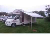 MOTORHOME FIAT DUCATO SWIFT LIFESTYLE 630L 6 BERTH CAMPERVAN MOTOR HOME
