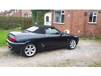 Bargain! Mgf 1.8i vvc 2001 full leather