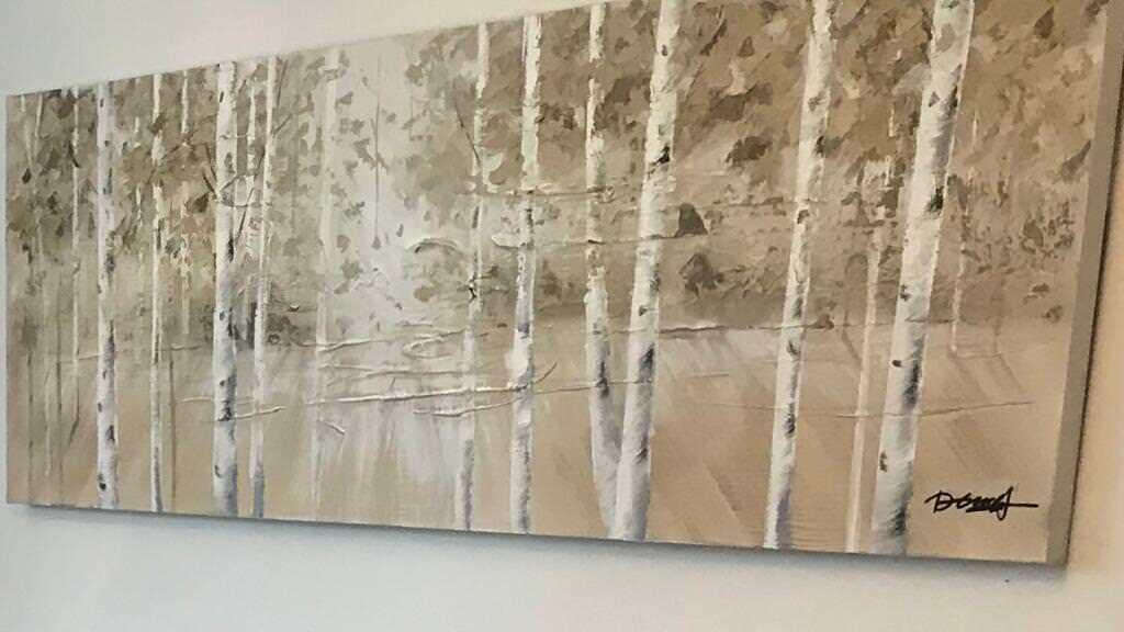 Birch Tree Large Canvas In Bournemouth Dorset Gumtree