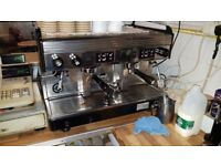 WEGA 2 Group Commercial Coffee Machine + Water Softener + Coffee Grinder