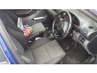 2002 SEAT LEON 20V TURBO CUPRA BLUE