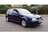 Volkswagen golf gt tdi 2003 fsh lady owner from new drives great 6 speed