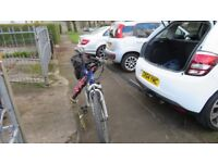 4 Bike Carrier with Height Extension for towing Caravan or Trailer