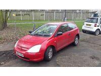 honda civic 1.4 inspire, good bargain, cheap car