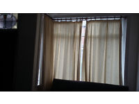 Curtains (two pairs, one single)