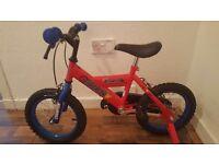 Boys silverfox bike