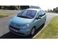CITROEN PICASSO 1.6 DESIRE,2006,72,000mls,Electric Windows,Air Con,Service History,Very Clean Car