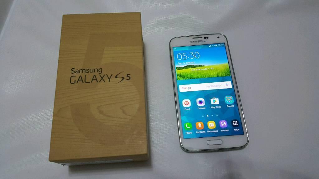 Samsung galaxy s5 G900f unlocked brilliant condition