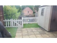 Garden Fence and Artificial Grass for Sale