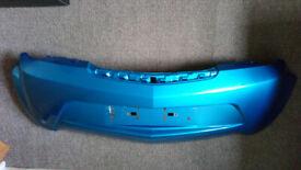 Vauxhall Tigra 2009 Blue Front Bumper