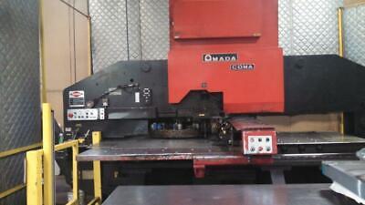 Amada Coma 567 Cnc Turret Punch Press - Fabricating Machinery