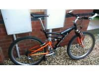 British eagle suspension mountain bike