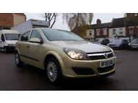 **VERY LOW MILEAGE** 2005 VAUXHALL ASTRA AUTOMATIC 1.8i LIFE 5 DOOR HATCHBACK **12 MONTHS MOT**