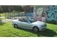 BMW convertible swap car van bike