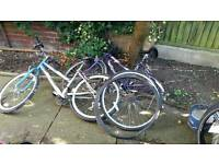 Free. 2x bikes for spares or repairs