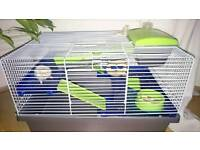 Russian Dwarf Hamsters & Cage