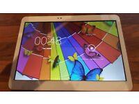 "10.1"" Octa Core Tablet, 4GB RAM, 13MP/5MP Camera, Dual Sim, 2560x1600 Resolution"