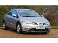 HONDA CIVIC 1.8 SE 09PLATE 2009 FACELIFT 1LADY OWNER FROM NEW 100649 MILES FULL SERVICE HISTORY AC