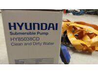 HYUNDAI SUBMERSIBLE PUMP FOR CLEAN AND DIRTY WATER