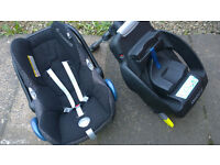 MAXI COSI car seat ''from birth'' & ISO base